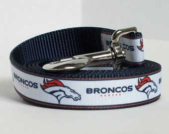 Denver Broncos Dog Leash