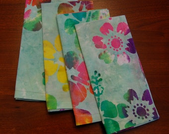 Handmade Cotton Napkins (Set of 4) FREE SHIPPING