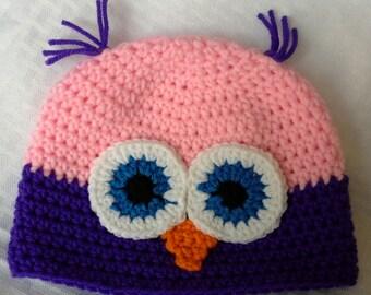 Childs owl hat