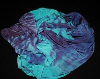 Hand-Dyed Crepe de Chine Silk Yardage