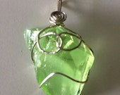 Luminescent Green Andara Crystal