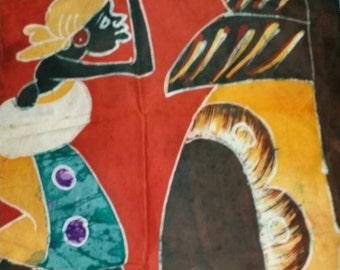 African Batik Art