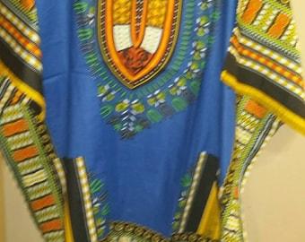 African Print Oversized Dashiki
