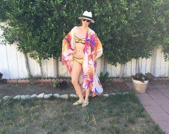 Kaftan Beach Wear Resort Wear Cover Up Tunic Top
