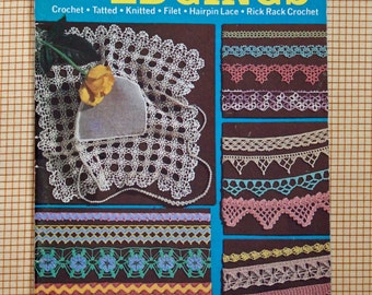 Vintage Coats and Clark's Pattern Booklet 179 Priscilla Edgings