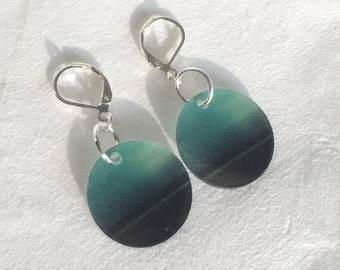By the Sea Original Photograph Earrings