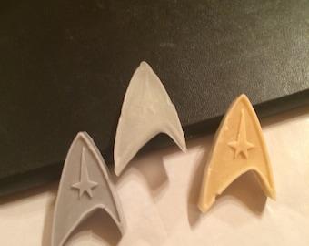 Star Trek Insignia novelty soap