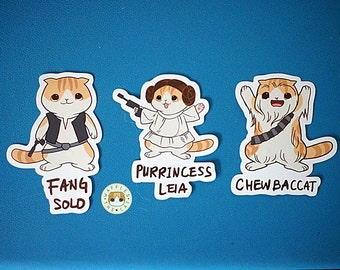 Star Paws - Rebels Pack Star Wars Funny Cat Stickers