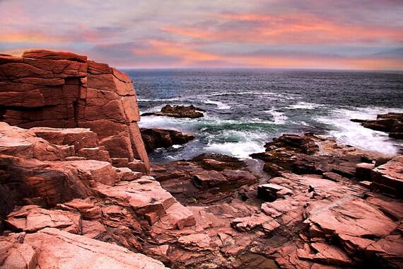 Acadia National Park Bar Harbor Original Photography