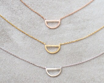 Semi Circle Necklace