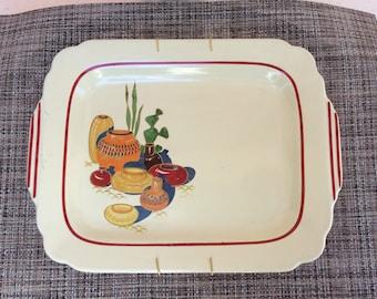 Homer Laughlin Mexicana platter