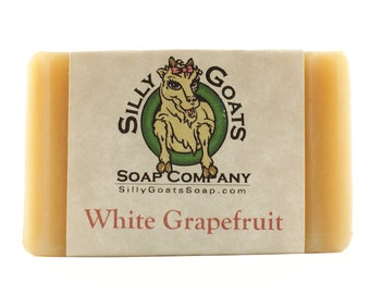Handmade Goats Milk, 'White Grapefruit' Soap