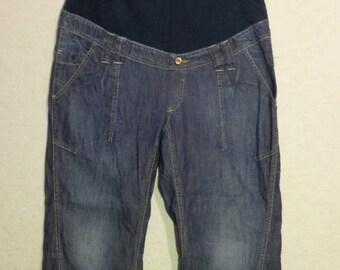 Maternity Mama jeans ,Size XL,maternity pants - maternity skinny pants - maternity jeans - maternity clothes - maternity trousers