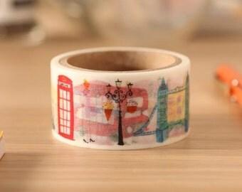Downtown London | Aimez Le Style 28mm Wide Washi Tape (04901)