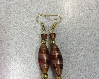 Bronze earrings, gold earrings, 2timothys16,
