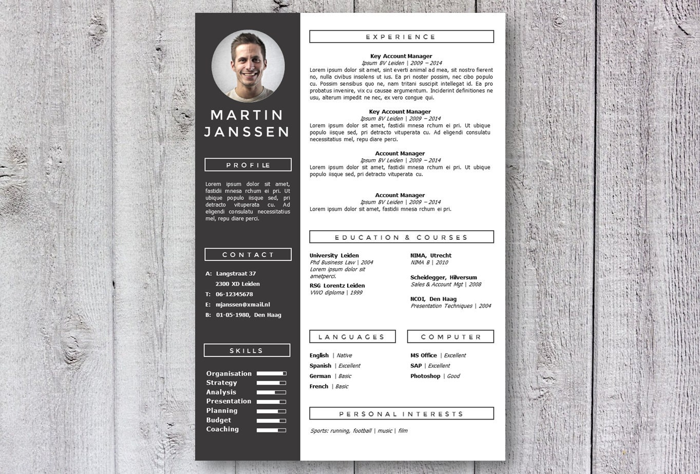 resume Modern Resume Design modern resume template cv creative design get noticed word template