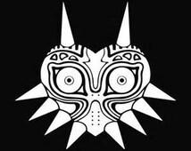 Majora's Mask Decal, Legend of Zelda Decal