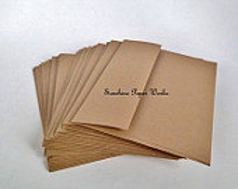 Kraft A1 Envelopes - 25 ct - 3.625 X 5.125 inches - 70# - Acid and Lignin Free