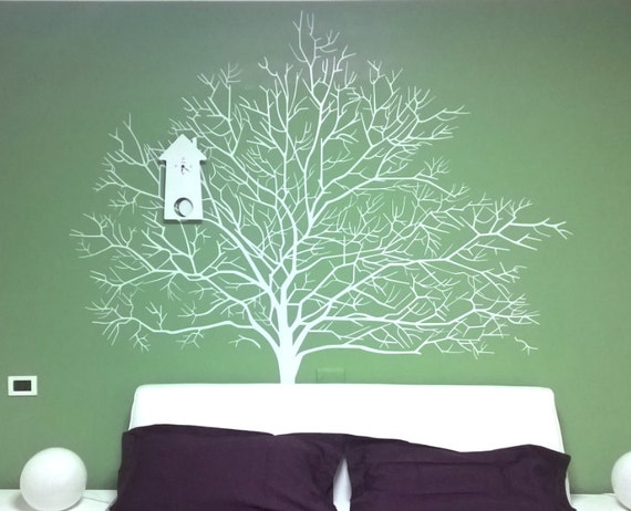 White Birch Tree Wall Decal Branch Forest Wall By
