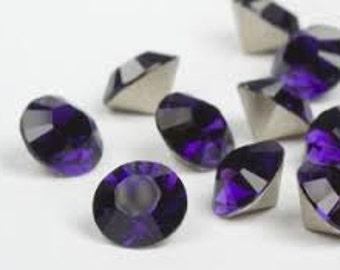 SWAROVSKI 1028 - SS29 Chaton - Purple Velvet - Pack 24