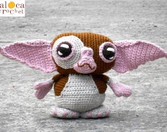 Pattern Gizmo Gremlins amigurumi. By Caloca Crochet