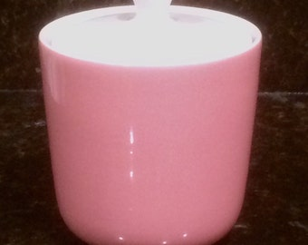 Mikasa Pink Pastelle Sugar Bowl With Lid.  D6100
