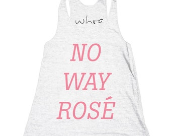 No Way Rose Tank Top