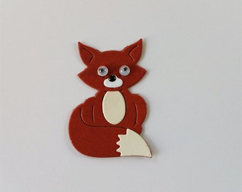 Little Fox Die Cuts in a Variety of Colors