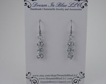 Delicate Half Barrel Earrings