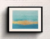 "Turquoise Bay - 8""x10"" Art Print"