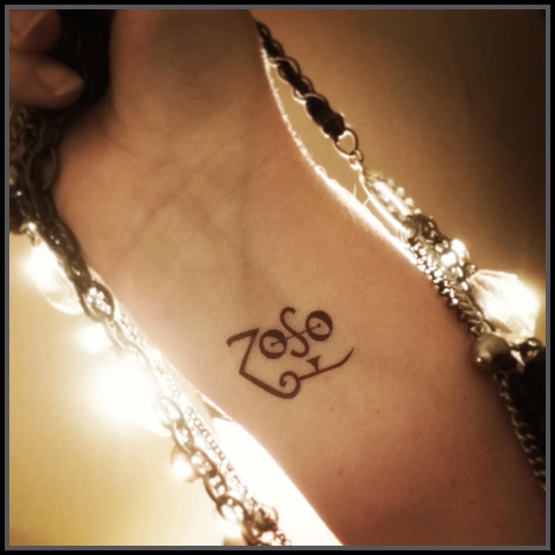 Jimmy Page Tattoo