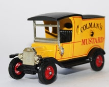 Vintage Ford Model T 1912 Van  Die Cast Matchbox Models of Yesteryear Y12 Boxed Colman's Mustard 1 to 35 Model Collectable Home Decor
