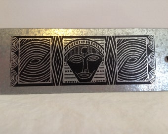 Hand Crafted Metal Bookmark