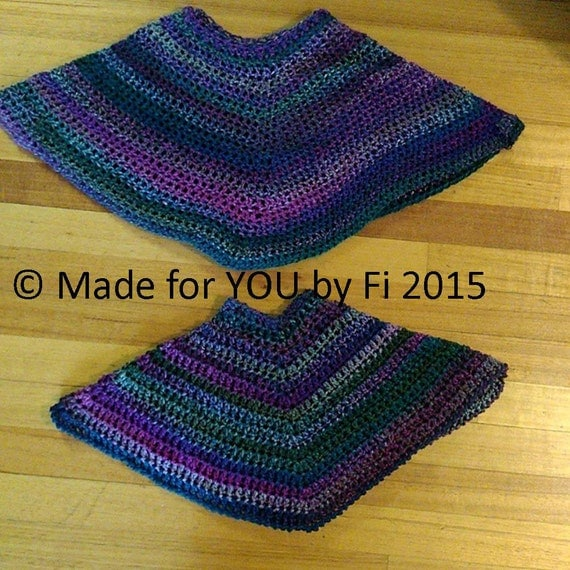 Beginner Knitting Poncho : Pdf download beginner s crochet poncho pattern by