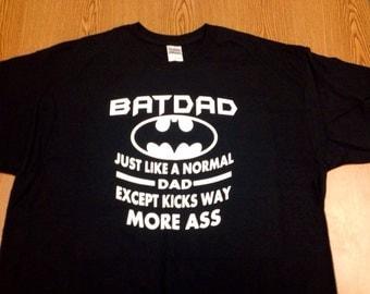 Batdad T-shirt Bat Dad