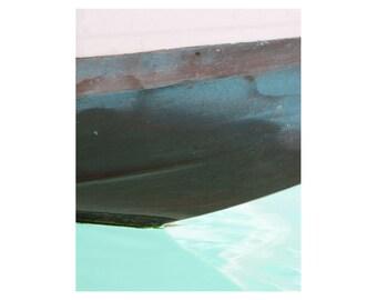 Aqua Art - Aquamarine Abstract Wall Art - Marine Art - Nautical Art - Abstract Photography / Photograph / Venice Italy