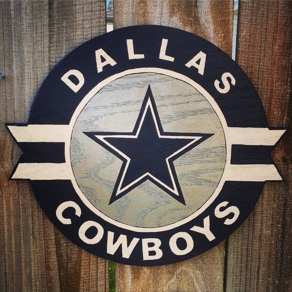Dallas Cowboys Welcome Home Sign: Items Similar To Dallas Cowboys Wooden Wall-Hanging Or