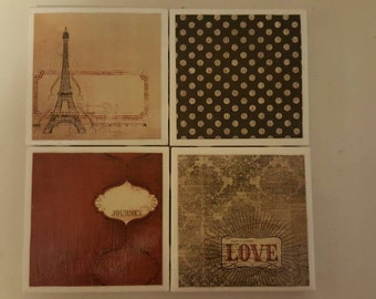 Traveling love coasters