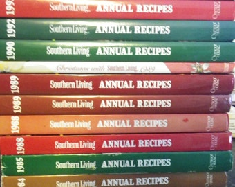 Southern Living Cookbooks~ MANY dates to choose from!