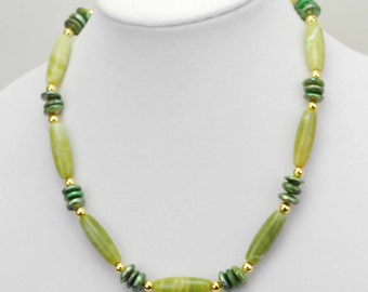 Handmde New Jade Necklace