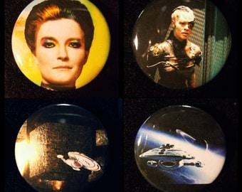 Star Trek Voyager - Button 4-pack