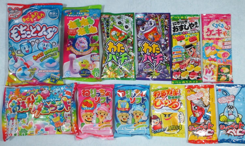 12pcs set japanese diy candy kits popin by nekomonjakawaiidiy. Black Bedroom Furniture Sets. Home Design Ideas
