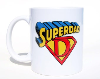 Super Dad Coffee Mug Gift For Dad