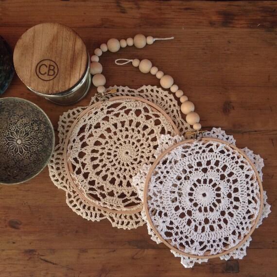 Diy doily mandala kit craft kit gift for adults gift for Craft kit for adults