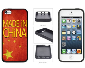 Made In China Phone Case - iPhone 4 4s 5 5s 5c 6 6 Plus iPod Touch
