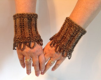Unique Wrist warmers, cuffs