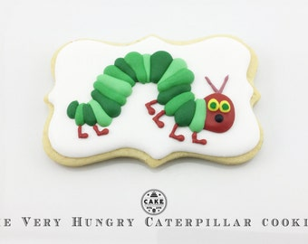 Very Hungry Caterpillar Cookies - min order 12