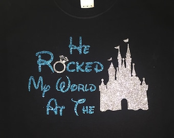 He rocked my world at the castle!
