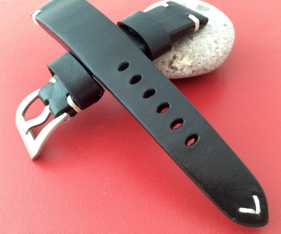 Real Leather Strap for all Bremont watch and other luxury watches with 22mm/18mm - Best Quality and Deal!