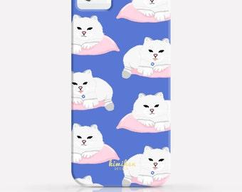 Cat iPhone Case - iPhone 6 Plus Case - iPhone 6 Case - iPhone 5C Case - iPhone 5 Case - 2 in 1 Case -Galaxy S6 Case - Samsung case